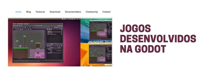 Jogos desenvolvidos na Godot