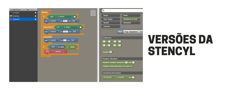 Versões da Stencyl